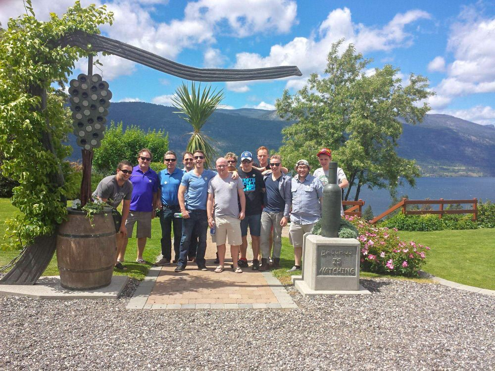 Staff Party Wine Tours