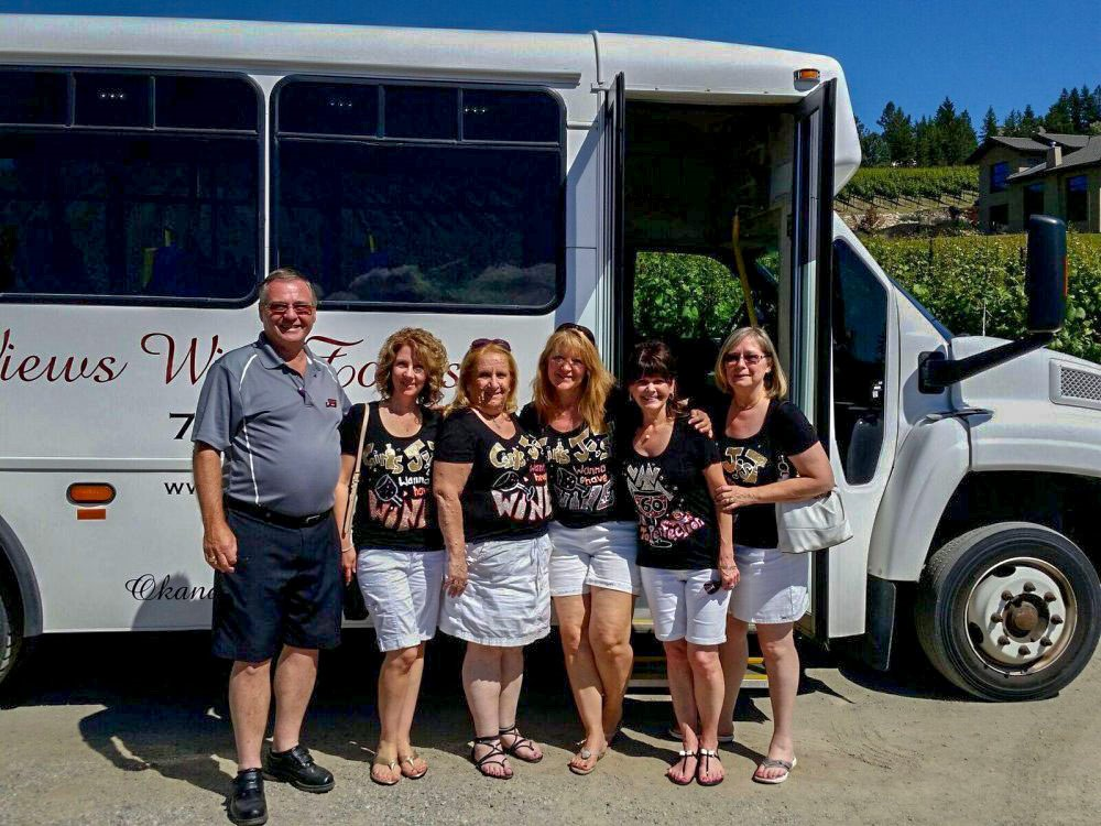 Birthday Party Wine Tours With Bus