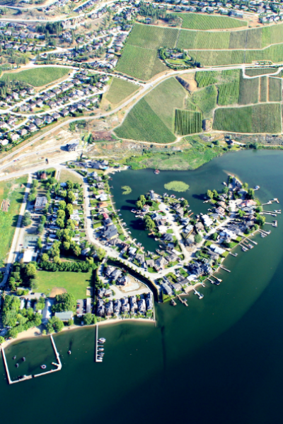 West Kelowna Lake & Vineyards Helicopter Tour